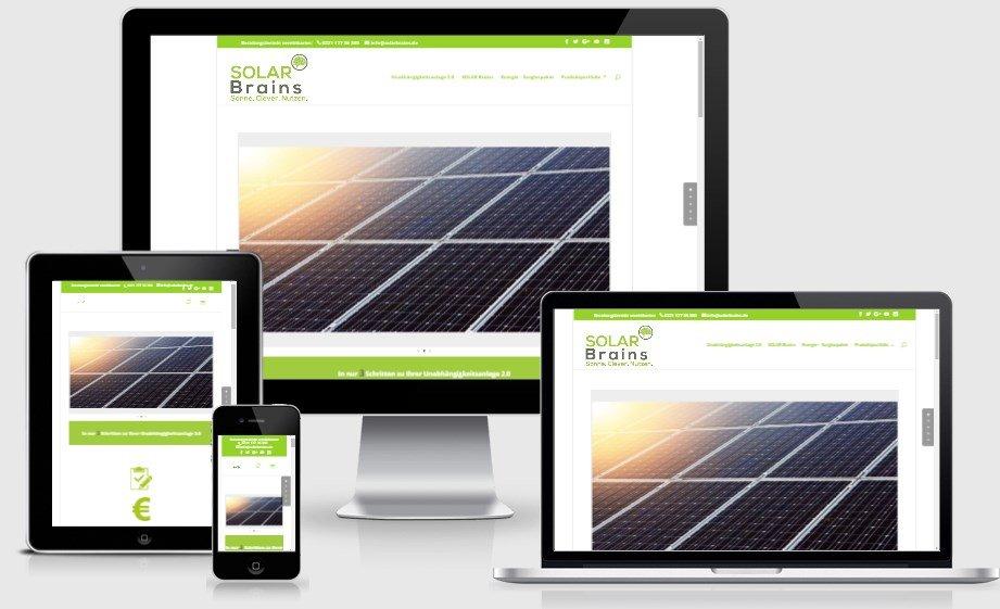 SolarBrains - der Umwelt zuliebe