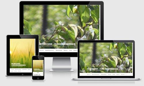 Webdesign - Ferienwohnung